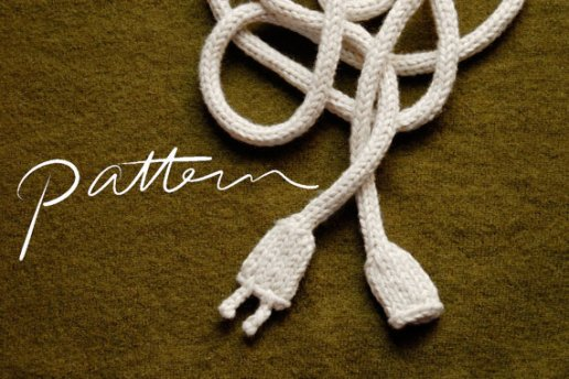 Pattern - Knitted Power Cord - Knit Knit