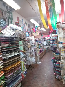 mendels craft store on Haight Street