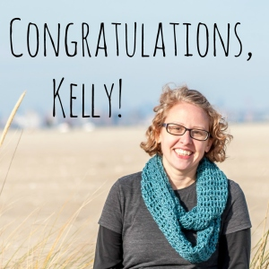 Congrats, Kelly!