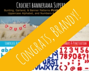 Our giveaway winner - Brandy